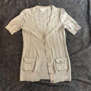 Sparkly cardigan